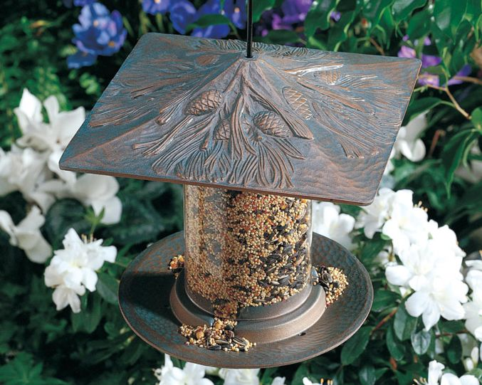 Pinecone 6 Inch Tube Feeder